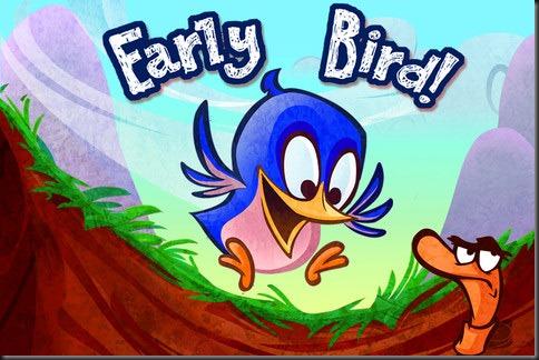an early bird gets the worm
