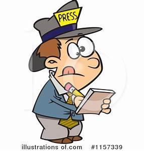 Newspaper Reporter Clip Art